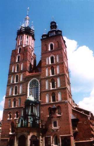 Wieże mariackie